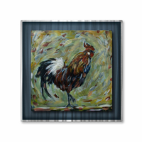 Ruler of the Barnyard Rooster Art