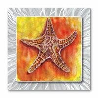 Sundrenched Starfish Nautical Art