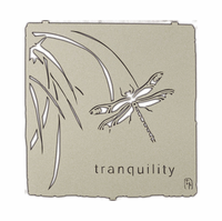 Tranquil Dragonfly Metal Wall Sculpture