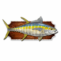 Yellow Tuna Fish Plaque