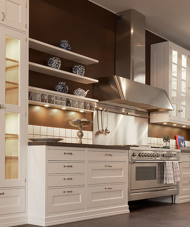 Captivating American Kitchen Cabinets