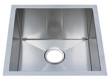 Chef Pro Series Stainless Steel Undermount Sink: CPUR1919-D10