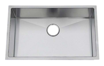 Chef Pro Series Stainless Steel Undermount Sink: CPUR2719-D10