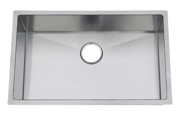 Chef Pro Series Stainless Steel Undermount Sink: CPUR3219-D10