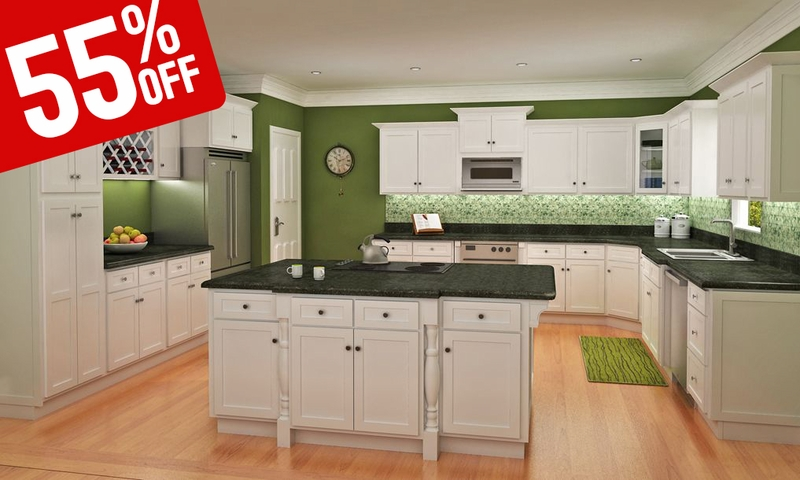 Classic white shaker kitchen cabinets for Classic kitchen cabinets inc