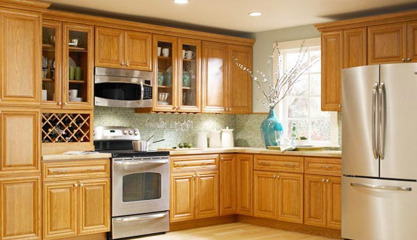 Kitchen Ideas White Oak Cabinets