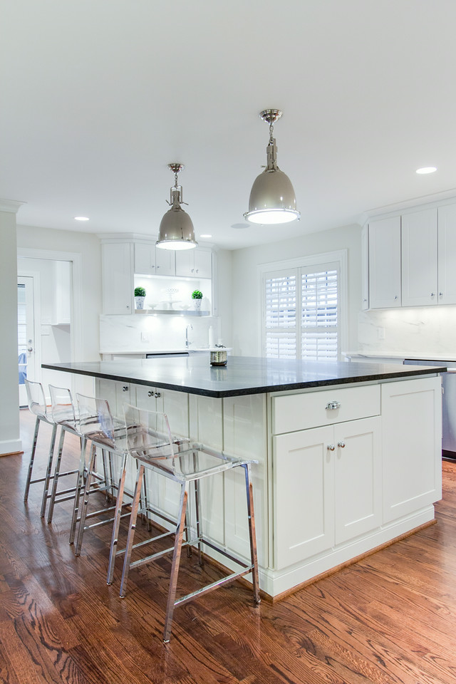 Dartmouth painted white kitchen cabinets for Bathroom cabinets york pa