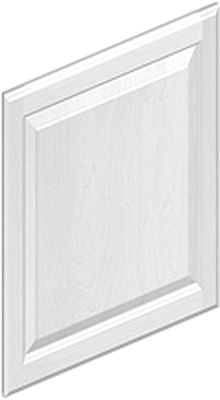 White Kitchen End Panels dwep30-decorative end panel accessory:dartmouth painted white