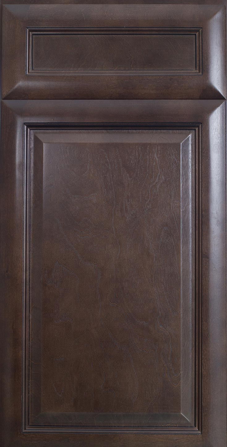 Espresso Glaze Sample Door
