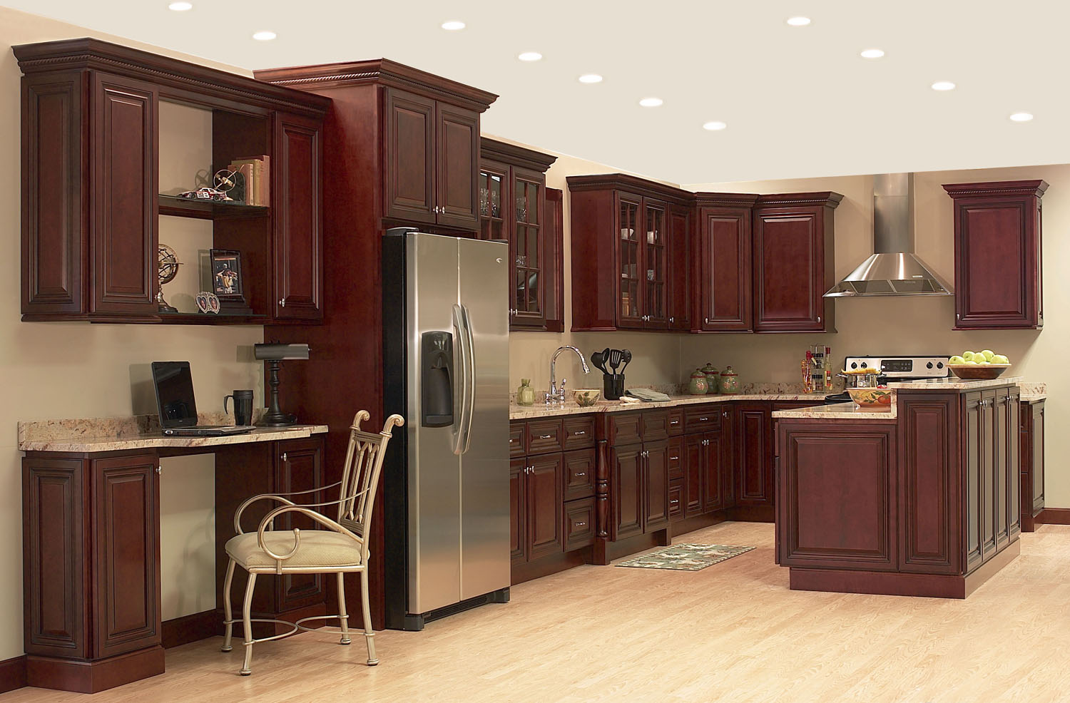 Wood kitchen cabinets ready to assemble for Canac kitchens kitchen cabinets