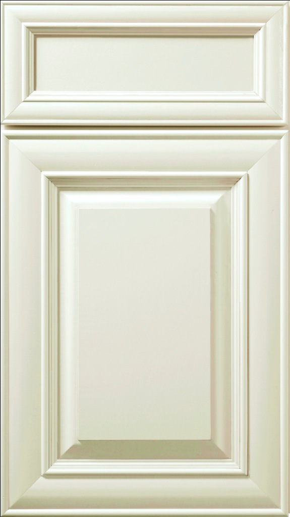 Hudson Antique White Paint Sample Door