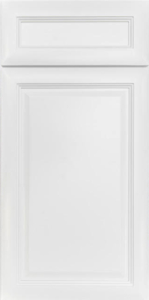 K-Series White Kitchen Cabinets