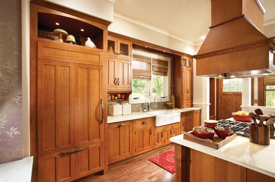 Medallion Hudson Falls And Trinity And Gable Kitchen Cabinets