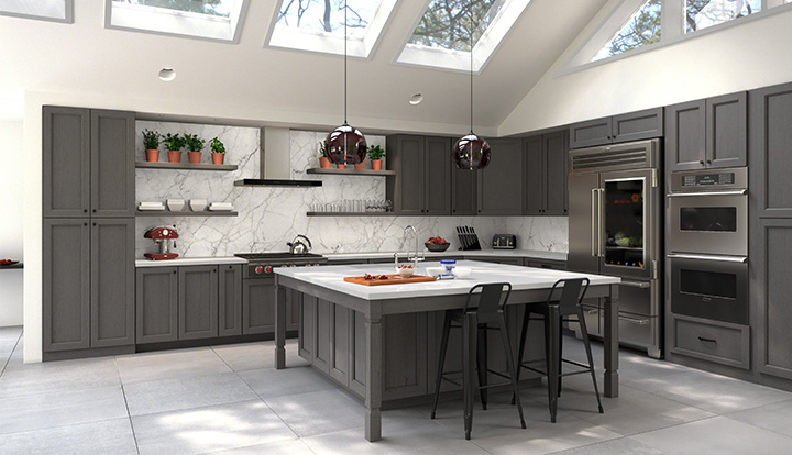 Grey Kitchen Cabinets - Where to buy grey kitchen cabinets
