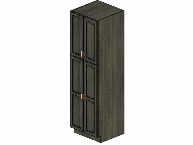 Pc2484 Pantry Cabinet Stonedale Kitchen Cabinet