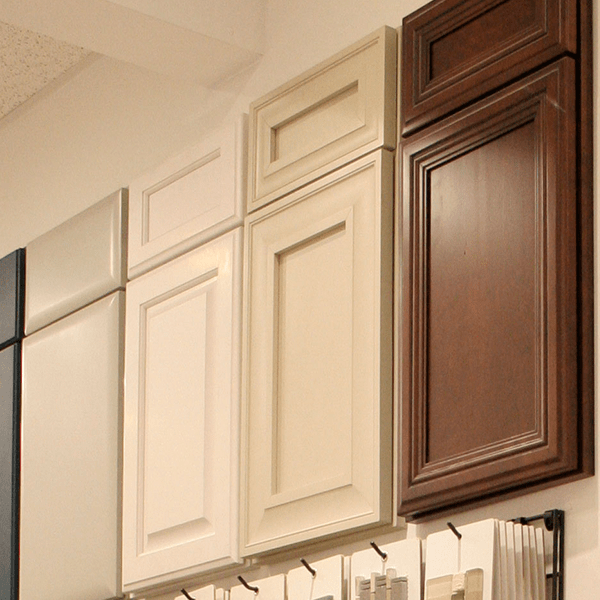 White kitchen cabinets for Bathroom cabinets in queens