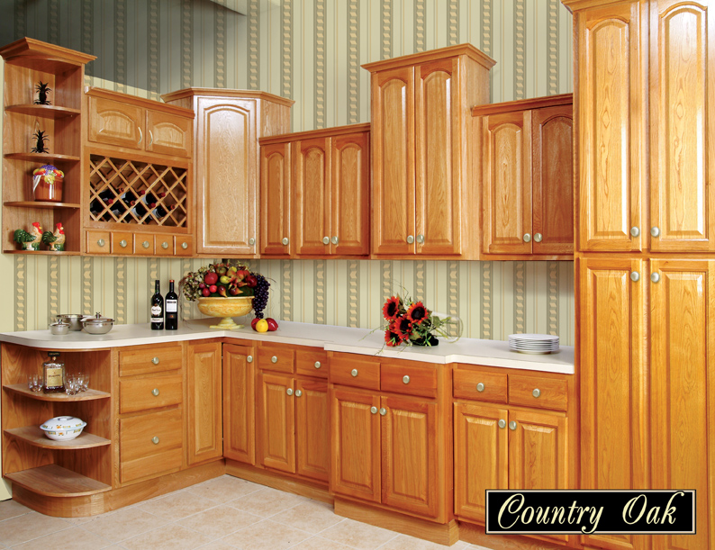 Roman Country Oak Kitchen