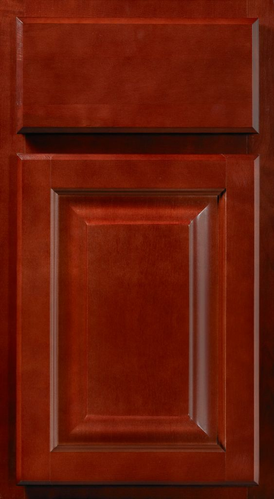 Saginaw Crimson Sample Door