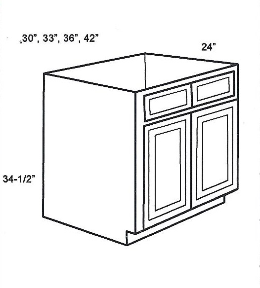 kitchen sink base cabinet sizes sb42 base cabinets sink base cabinet classic white shaker 8443