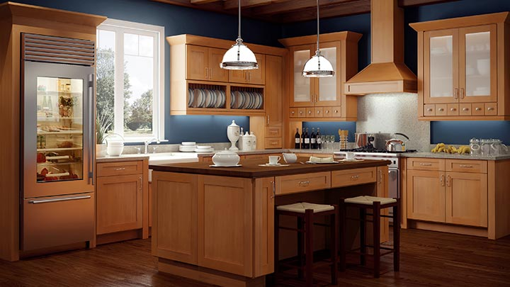 Shakertown kitchen cabinets for Kitchen cabinets 51