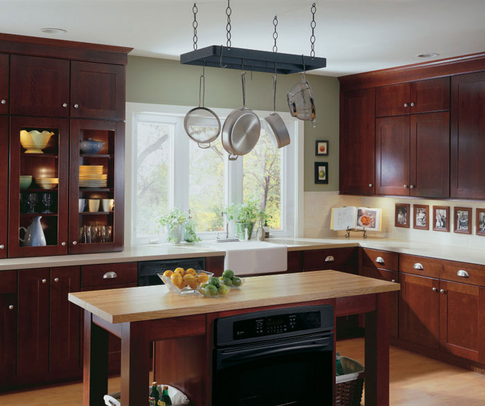 sumner cherry kitchen cabinets - In Style Kitchen Cabinets