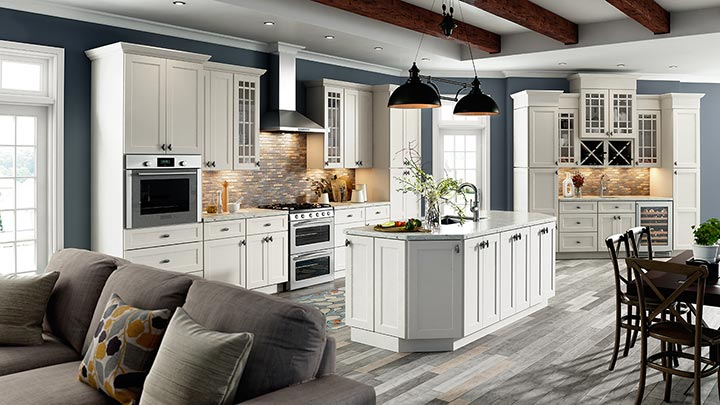 Trenton Recessed Kitchen Cabinets