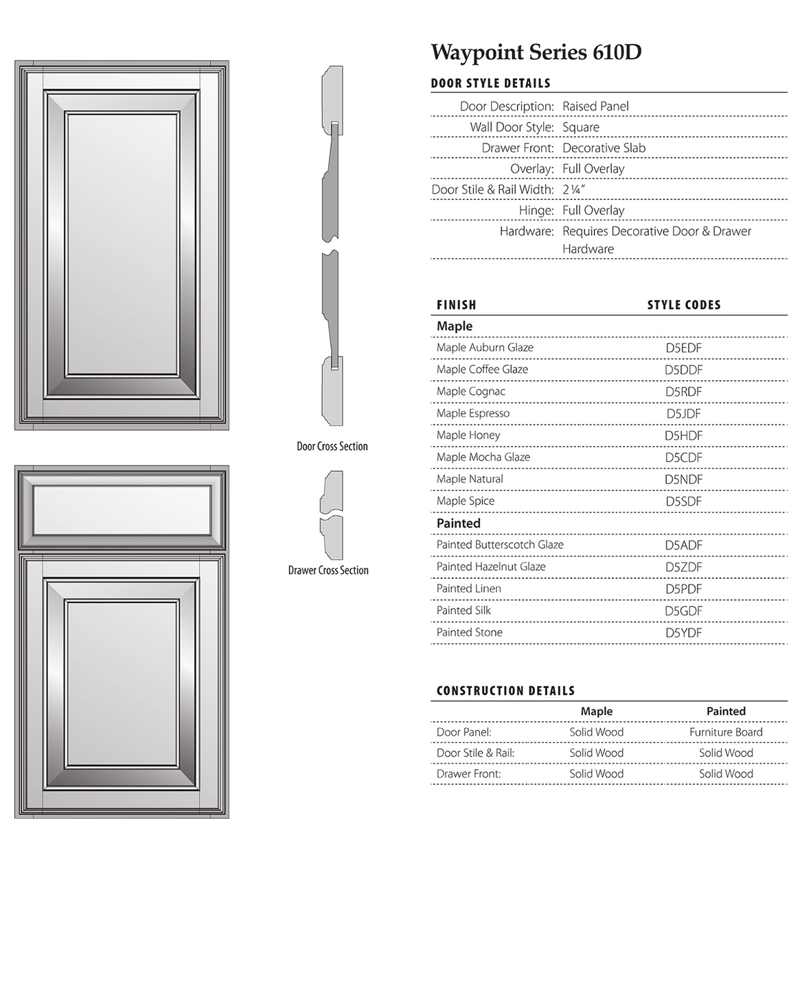 Waypoint Living Spaces 610d