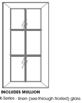 International Kitchen Supply Mullion Glass Door