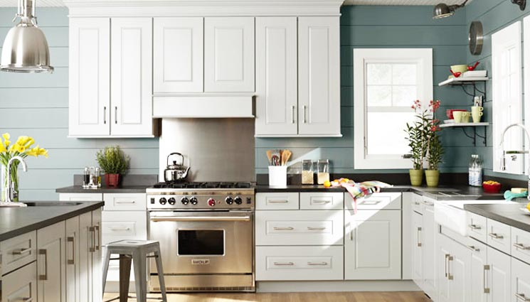Yarmouth Recessed Kitchen Cabinets