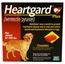 1 Month Heartgard Plus Brown for Dogs 51 to 100 lbs