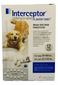 12-MONTH Interceptor White for dogs 50 - 100 lbs. and cats