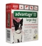 4 MONTH Advantage II Flea Control for Dogs 21-55 lbs