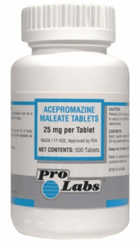 Acepromazine tranquilizer for dogs