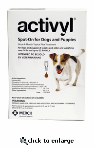 Activyl for Dogs 14-22 lbs 6 Pack
