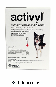 Activyl for Dogs 22-44 lbs  6 pack