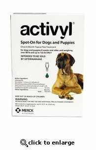 Activyl for Dogs 88-132 lbs 6 Pack