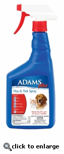 Adams Plus Flea and Tick Spray 32 oz