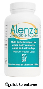 Alenza Chewable Tabs Med/Lg Dogs 60 ct