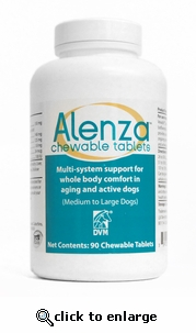 Alenza Chewable Tabs Med/Lg Dogs 90 ct