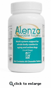 Alenza Chewable Tabs Small Dogs 60 ct