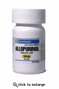 Allopurinol 100 mg per tablet