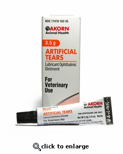 Artificial Tears Lubricant Ophthalmic Ointment 3.5g