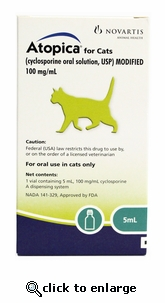 Atopica for Cats 5 mL 3 Pack