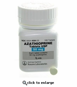 Azathioprine 50mg 100ct tablets