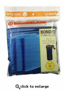 Bonded Filter Sleeve Rite-Size U 3pk