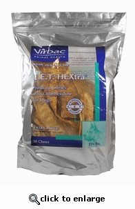 C.E.T. HEXTRA Premium Chews for Dogs Extra Large 30 ct