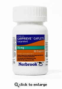 Carprieve Caplets (Norocarp) 75mg 180ct