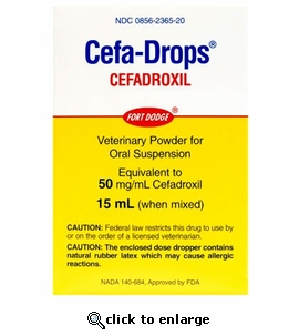 Cefa-Drops 50mg/ml 15ml