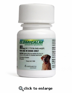 Clomicalm 80 mg Green for Dogs 30 ct
