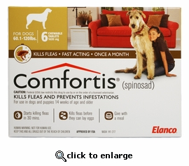 Comfortis 1620mg for Dogs 60-120 lbs 1 pill